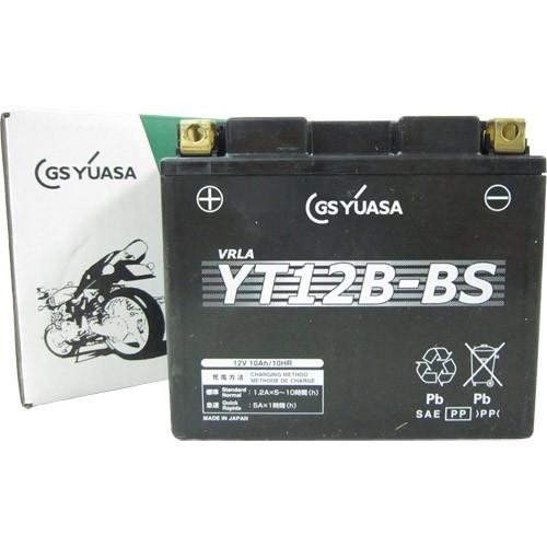 バイクパーツ バイクバッテリーYT12B-BSGSユアサ YT12B-BS 取寄品