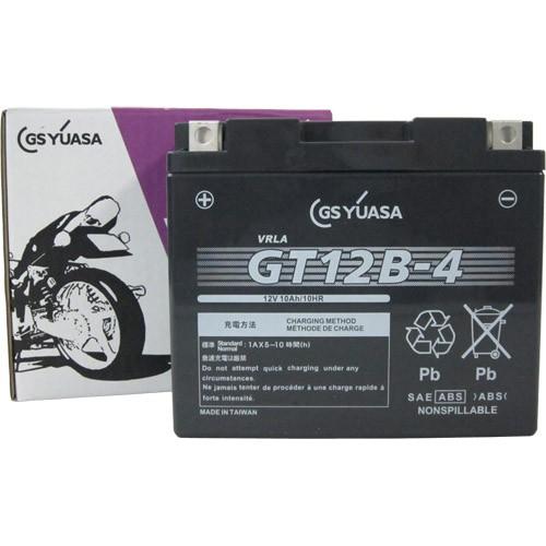 バイクパーツ バイクバッテリーGT12B-4GSユアサ GT12B-4 取寄品