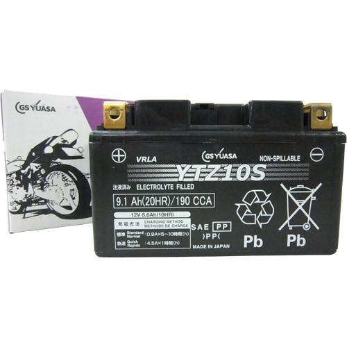 バイクパーツ バイクバッテリーYTZ10SGSユアサ YTZ10S 取寄品