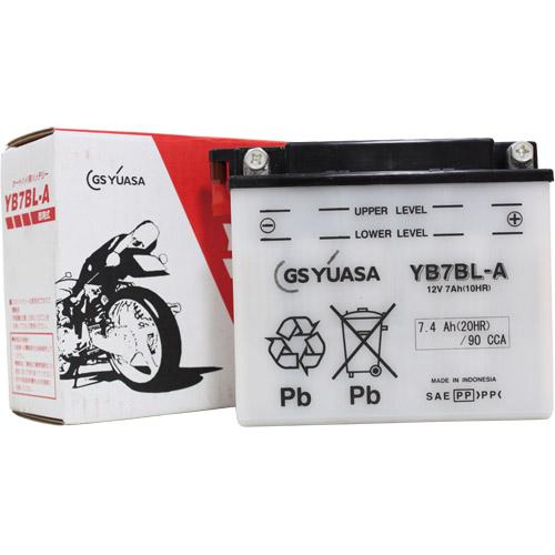 バイクパーツ バイクバッテリーYB7BL-AGSユアサ YB7BL-A 取寄品