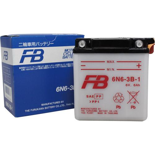 バイクパーツ バイクバッテリー6N6-3B-1古河電池 6N6-3B-1 取寄品