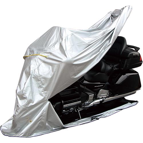 バイクパーツ 盗難防止用品/バイクカバー バイクカバーFC-4L 38500 バイク用 フルカバー 底付 サイドスタンド用 4L シルバーMARUTO FC-4L 38500 取寄品