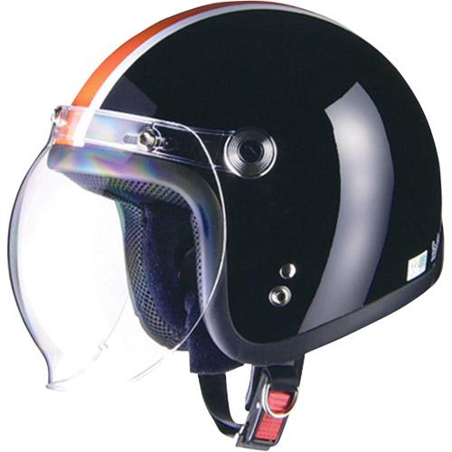 バイクパーツ ヘルメット ヘルメットBARTON BC-10 ジェットヘルメット ブラック×オレンジリード工業 BC-10 取寄品 セール