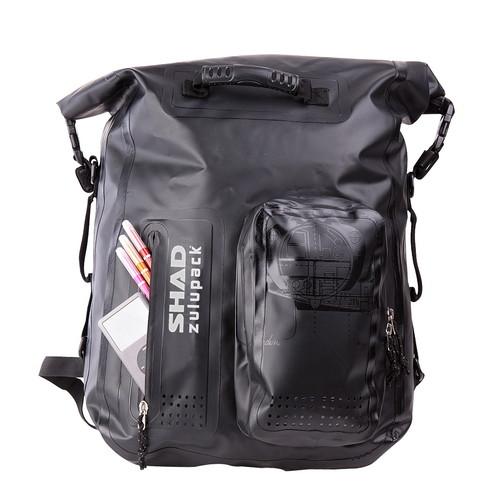 バイクパーツ ツーリングバッグSW35 zulupack 防水リア用バッグ ブラック 35LSHAD(シャッド) W0SB35 取寄品