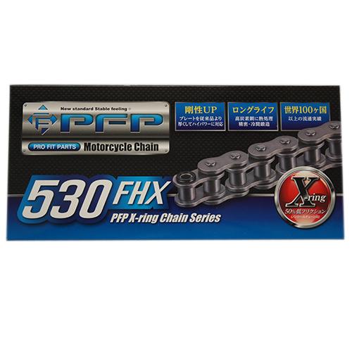 スーパーセール バイクパーツ チェーン530FHX-120LPFP(ピーエフピー)取寄品