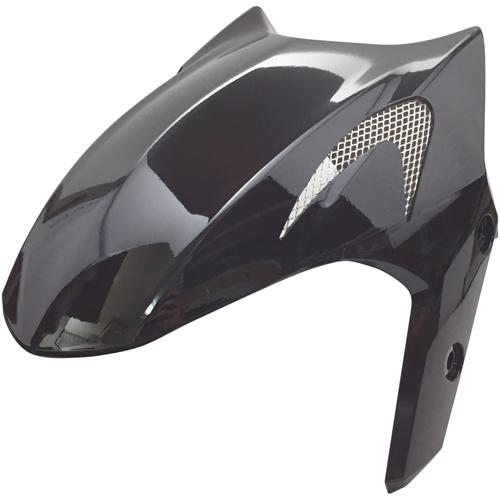 スーパーセール バイクパーツ 外装パーツマジェスティS エアロフロントフェンダー ブラックOptimum(オプティマム) OP11207 取寄品