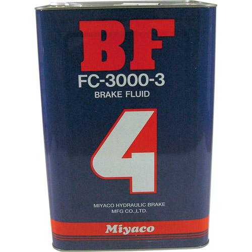 スーパーセール バイクパーツ ブレーキオイルDOT4 ブレーキフルード 18Lミヤコ FC-3000-3 取寄品
