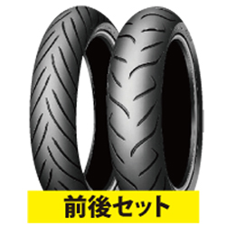 スーパーセール バイクパーツ バイクタイヤ セット売り ROADSMARTII120/70ZR17 160/60ZR17 前後セットDUNLOP(ダンロップ)取寄品