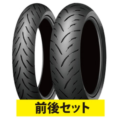 バイクパーツ バイクタイヤ セット売り GPR300 120/70ZR17 180/55ZR17 R 73W 前後セットDUNLOP(ダンロップ) 取寄品