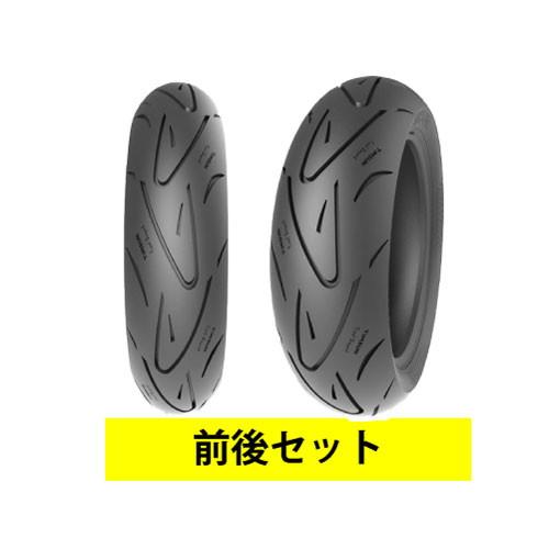 バイクパーツ バイクタイヤ セット売り TS660 120/70-13 53P TL 130/70-13 57P TL 前後セットTIMSUN (ティムソン) 取寄品