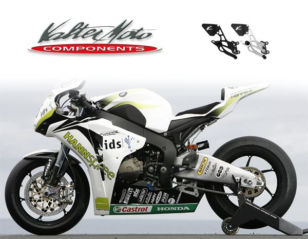 Speed レース BLK バイク用品 4548664563852取寄品 Triple ステップバルターモトコンポーネンツ バルターモト.C バックステップ 05-10VMC-PET06 セール