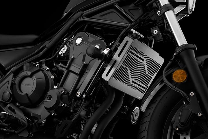 バイク用品 冷却系 ラジエターバイカーズ BIKERS ステンレスラジエターガード チタンコート Rebel500 17-19H0443-BLK 4549950839545取寄品 セール