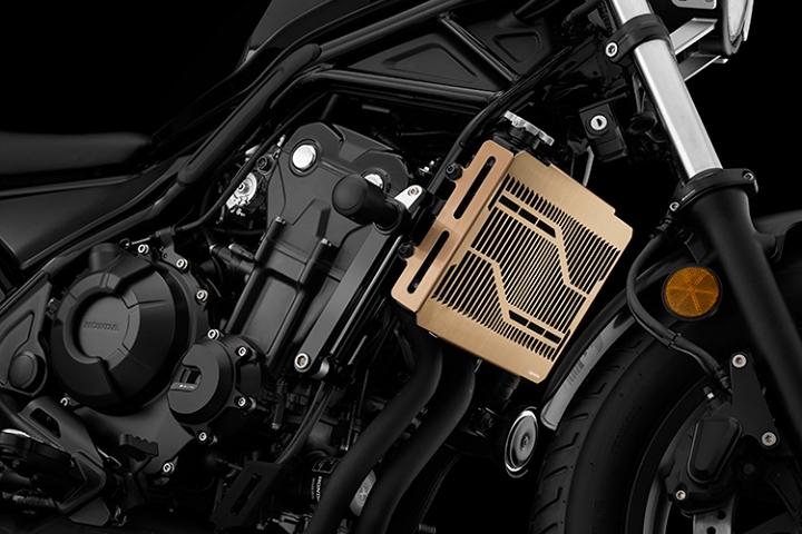 バイク用品 冷却系 ラジエターバイカーズ BIKERS ステンレスラジエターガード チタンコート Rebel500 17-19H0443-RGD 4549950839576取寄品 スーパーセール