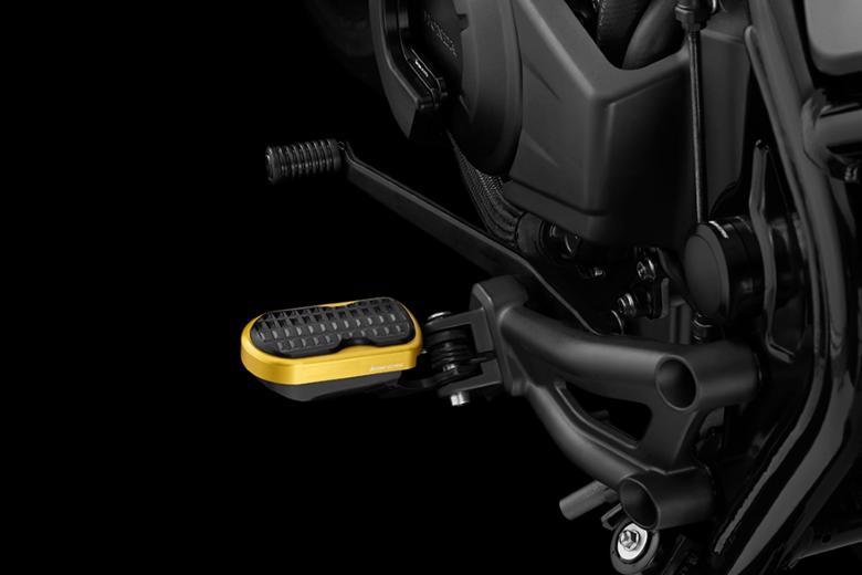 バイク用品 ステップ ステップ&ステップボード&タンデムキットバイカーズ BIKERS F.フットペグ M.L.GLD Rebel500 250 17-19H0441-LGD-BLK 4549950870470取寄品 スーパーセール