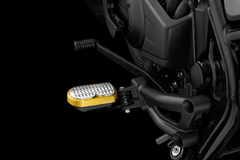 バイク用品 ステップ ステップ&ステップボード&タンデムキットバイカーズ BIKERS F.フットペグ M.L.GLD シルバー Rebel500 250 17-19H0441-LGD-SLV 4549950870487取寄品 スーパーセール