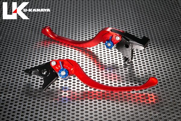 バイク用品 ハンドル レバーユーカナヤ U-KANAYA レバーセット ツーリング RD TI モンキー125 18-HO078-042-0805 4549950950011取寄品 スーパーセール
