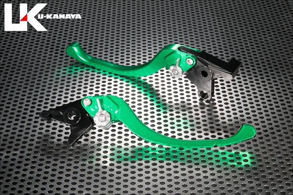バイク用品 ハンドル レバーユーカナヤ U-KANAYA レバーセット ツーリング GN OR モンキー125 18-HO078-042-0807 4549950950196取寄品 スーパーセール