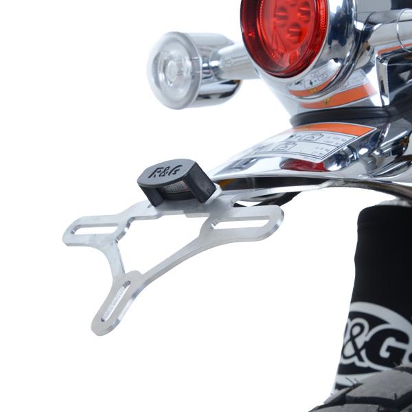 バイク用品 外装 フェンダーアールアンドジー R&G フェンダーレスキット SILVER Monkey125 18-RG-LP0259SI 4580041231572取寄品 セール