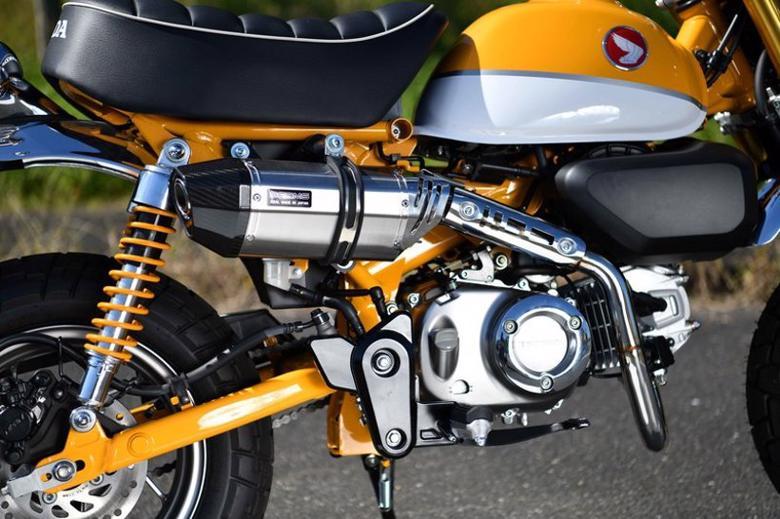 バイク用品 マフラー 4ストフルエキゾーストマフラービームスモーターカンパニー ビームス CORSA-EVOIIステンレスサイレンサー モンキー125G187-64-000 4582285346067取寄品 スーパーセール