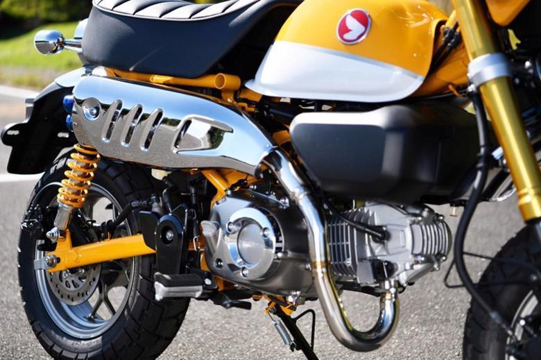 バイク用品 マフラー 4ストフルエキゾーストマフラービームスモーターカンパニー ビームス POWER OVAL STD-LOOK モンキー125G187-20-000 4582285346081取寄品 スーパーセール