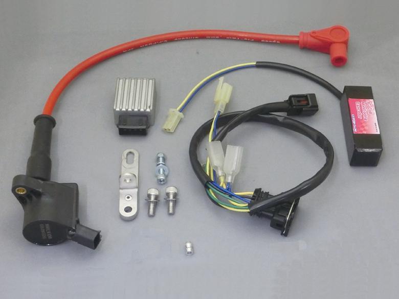 バイク用品 電装系 その他(電装系)シーエフポッシュ CF-POSH SUPER IG COILKit MONKEY125 スピードプロツインプラグコードRed付277710-04 4947934073068取寄品 スーパーセール