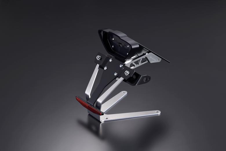 バイク用品 外装 フェンダーギルドデザイン ギルドD ビレットライセンスホルダー ガンメタ KTM DUKE79071538 4522285715388取寄品