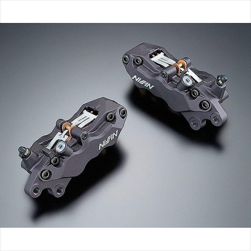 バイク用品 ブレーキ&クラッチ キャリパー&サポートアドバンテージ ADVANTAGE NISSIN 6POTキャリパー(L) 40mm ピッチ BLACK 6POTAB60-40-1L 4547567650706取寄品 スーパーセール