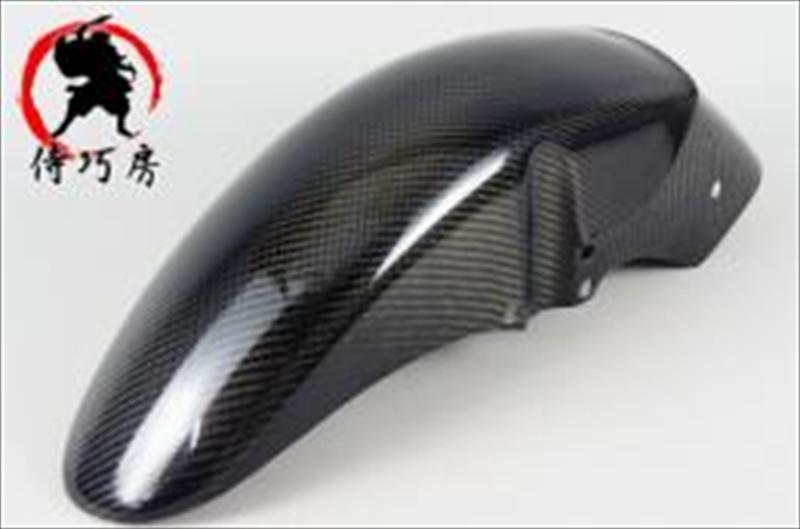 バイク用品 外装 フェンダーai-net アイネット フロントフェンダー FRP カーボン仕上 GPZ750R GPZ900R用 侍巧房21889 4571460850345取寄品