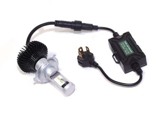 バイク用品 電装系 ヘッドライト&ヘッドライトバルブAbsolute アブソリュート LEDコンバージョンKIT H4 HI LO切替 6500KLEDCV1H4 4538792881409取寄品