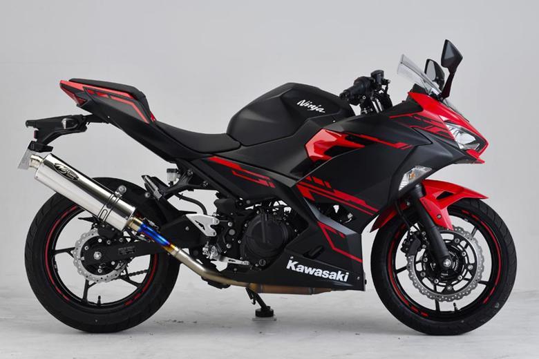 スーパーセール バイク用品 マフラー 4ストスリップオン&ボルトオンマフラーNOJIMA GTミドル スリップオン SUS Ninja250 400 18-19ノジマエンジニアリング NMS656SGTM-CLK 取寄品