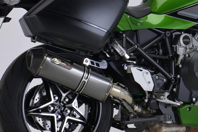 スーパーセール バイク用品 マフラー 4ストスリップオン&ボルトオンマフラーNOJIMA DLCロックオン スリップオン  NinjaH2SX (2BL-ZXT02A) 18-19ノジマエンジニアリング NT650SLCD-CLK 取寄品