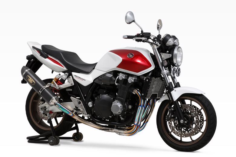 スーパーセール バイク用品 マフラー 4ストフルエキゾーストマフラーヨシムラ R-77Sチタンサイクロン LEPTOS TMC CB1300SF 08-13 14- CB1300SB 08-13ヨシムラ 110-41EF8120 取寄品