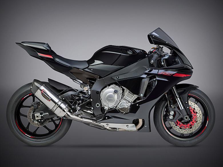 スーパーセール バイク用品 マフラー 4ストスリップオン&ボルトオンマフラーヨシムラ S O ALPHAレーシングサイクロン(SSC) YZF-R1 15-16ヨシムラ 1L0-38A-L35G0 取寄品