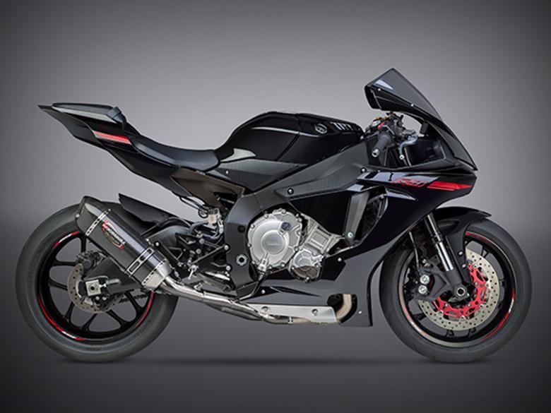 バイク用品 マフラー 4ストスリップオン&ボルトオンマフラーヨシムラ S O ALPHAレーシングサイクロン(SCC) YZF-R1 15-16ヨシムラ 1L0-38A-L39G0 取寄品