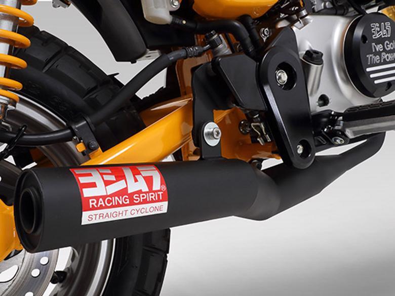 バイク用品 マフラー 4ストフルエキゾーストマフラーYOSHIMURA ヨシムラ 機械曲ストレートサイクロン MONKEY125110A-400-5650 4571463842941取寄品 スーパーセール