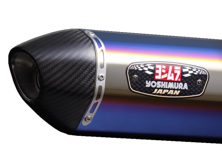 バイク用品 マフラー 4ストフルエキゾーストマフラーヨシムラ 機械曲R-77S カーボンエンドSTBC MT-09 TRACER GT XSR900ヨシムラ 110-380-5182B 取寄品