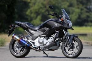 スーパーセール バイク用品 マフラー 4ストスリップオン&ボルトオンマフラーアールズギア ワイバンリアルSP S O TI  NC700X S・750X S・インテグラアールズギア RH20-03RT 取寄品