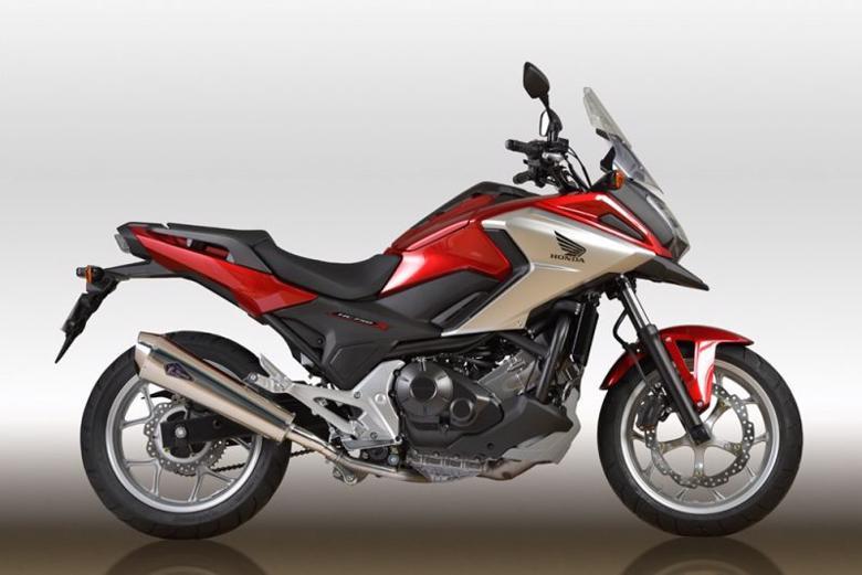スーパーセール バイク用品 マフラー 4ストスリップオン&ボルトオンマフラーアールズギア ワイバンリアルSP S O TI NC750X S 16-アールズギア RH30-03RT 取寄品
