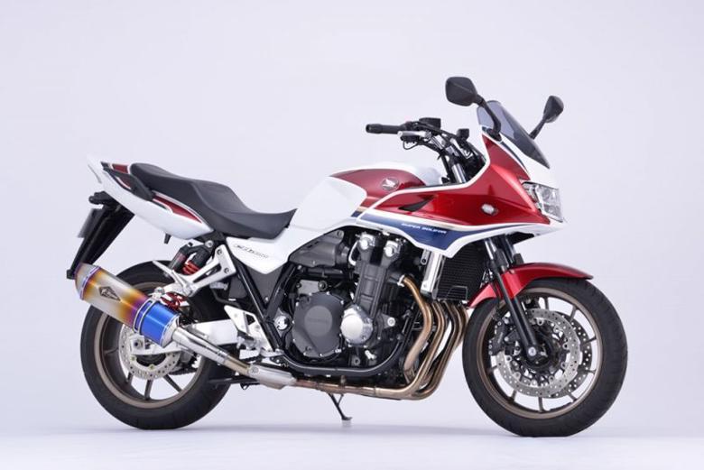 スーパーセール バイク用品 マフラー 4ストスリップオン&ボルトオンマフラーアールズギア ワイバンリアルSP S O ショート DB CB1300SF SB 18 2BL-SC54アールズギア RH32-03SD 取寄品