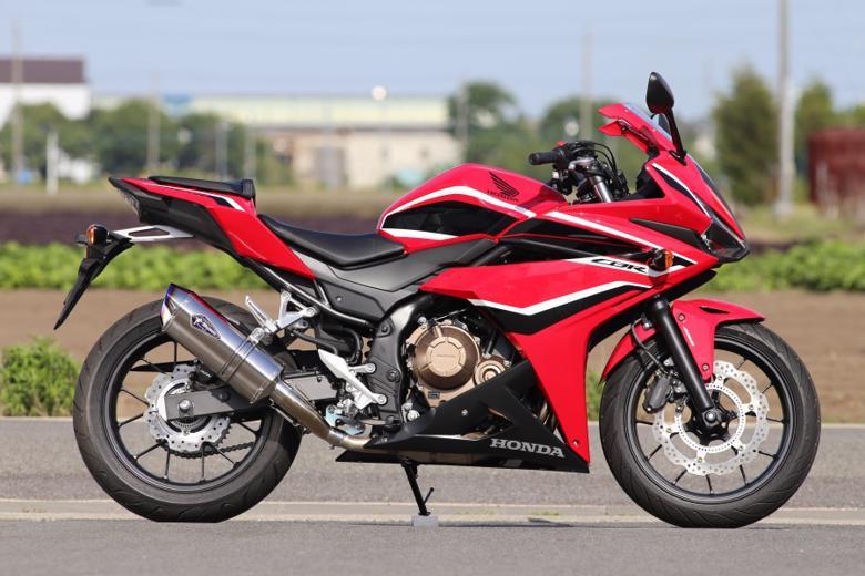 スーパーセール バイク用品 マフラー 4ストスリップオン&ボルトオンマフラーアールズギア ワイバンリアルSP S O タイプS TI CBR400R 16-18アールズギア RH36-03ST 取寄品