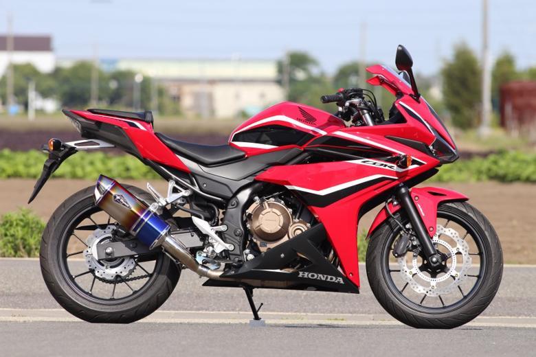 スーパーセール バイク用品 マフラー 4ストスリップオン&ボルトオンマフラーアールズギア ワイバンリアルSP S O タイプS DB CBR400R 16-18アールズギア RH36-03SD 取寄品