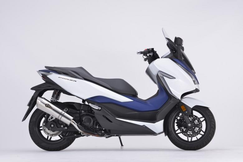 スーパーセール バイク用品 マフラー 4ストスリップオン&ボルトオンマフラーアールズギア ワイバンリアルSP S O TI FORZA 2BK-MF13アールズギア RH39-03ST 取寄品