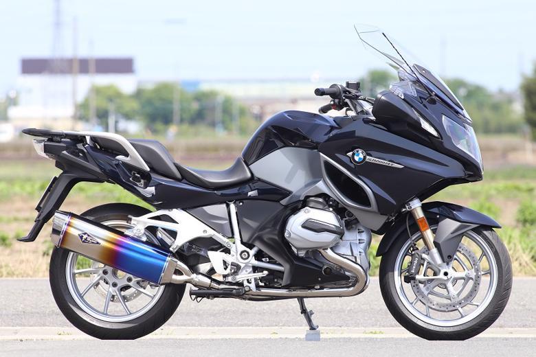 スーパーセール バイク用品 マフラー 4ストフルエキゾーストマフラーアールズギア ワイバンリアルSP シングル DB BMW R1200RT[2BL-R12NA]アールズギア RB14-01RD 取寄品