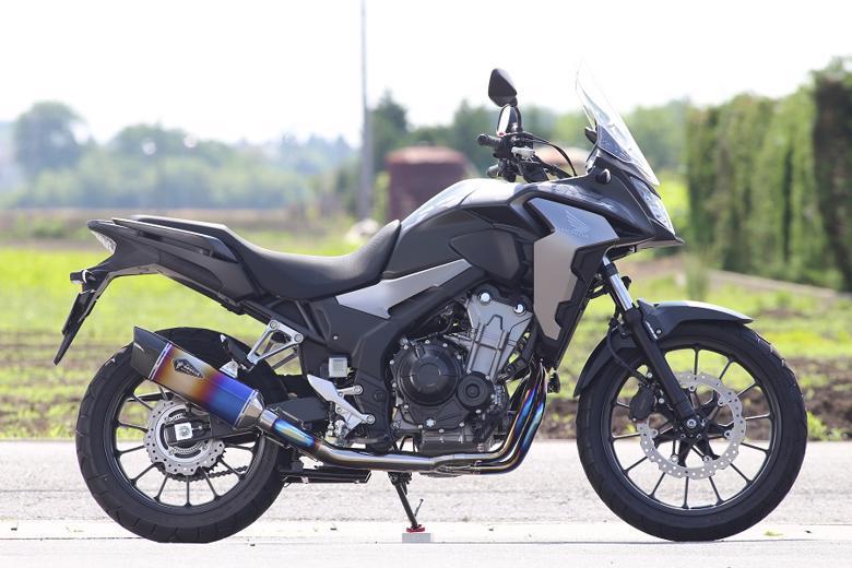 スーパーセール バイク用品 マフラー 4ストフルエキゾーストマフラーアールズギア ワイバンリアルSP シングル DB 400X 17-18 19-アールズギア RH43-01SD 取寄品