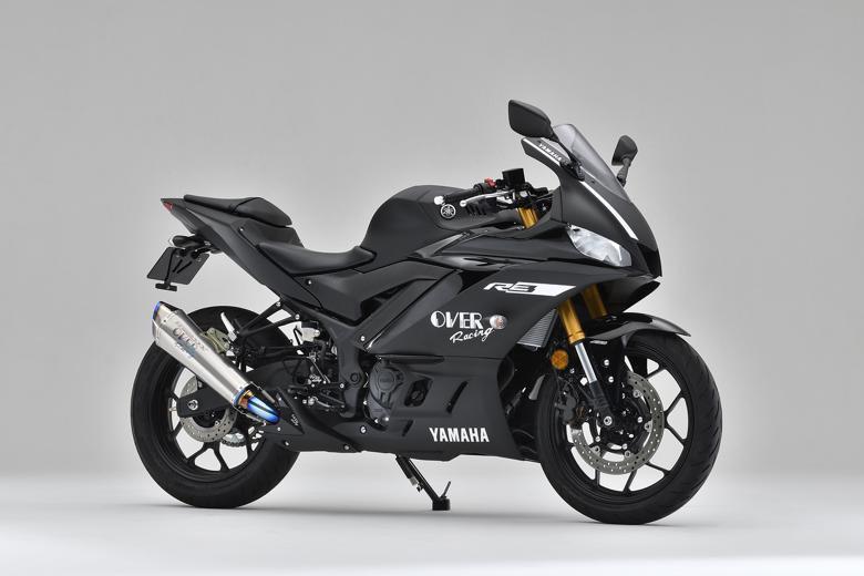 スーパーセール バイク用品 マフラー 4ストフルエキゾーストマフラーOVER TT-Formula RS+PRO フルチタン YZF-R25 19-オーヴァーレーシング 17-36-05 取寄品