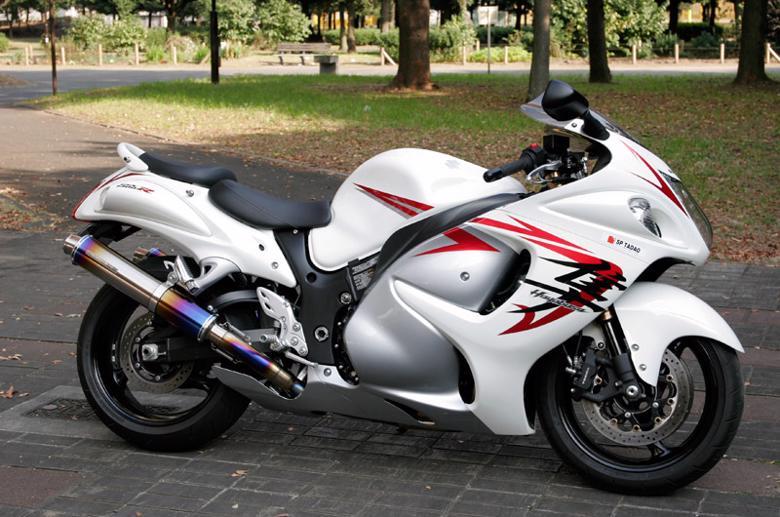 バイク用品 マフラー 4ストフルエキゾーストマフラーSP忠男 SUPER LITE フルチタン GSX1300R 08-スペシャルパーツタダオ GS1-SL-01 取寄品