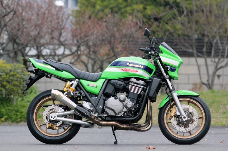 スーパーセール バイク用品 マフラー 4ストスリップオン&ボルトオンマフラーSP忠男 パワーボックス(ポリッシュ) ZRX1200DAEG(国内仕様) 09-スペシャルパーツタダオ ZR1-PS-01 取寄品