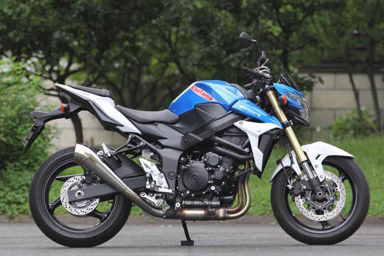 バイク用品 マフラー 4ストスリップオン&ボルトオンマフラーSP忠男 パワーボックス メガホン  GSR750(国内EBL-GR7NA、逆輸入C5111 C5112)スペシャルパーツタダオ GS7-PB-01 取寄品