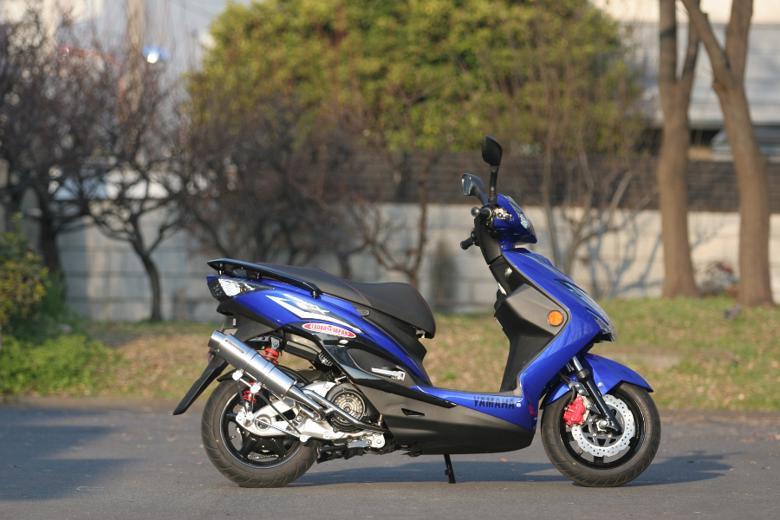 バイク用品 マフラー 4ストフルエキゾーストマフラーSP忠男 PURE SPORT S ゴールドエンブレム CYGNUS-X(台湾仕様SE465) 13-スペシャルパーツタダオ CY1-GE-23 取寄品