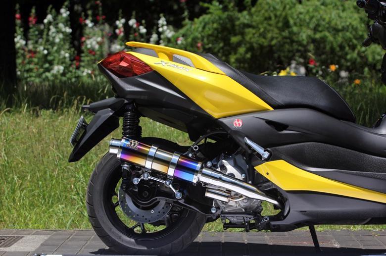 スーパーセール バイク用品 マフラー 4ストフルエキゾーストマフラーSP忠男 パワーボックス FULL S チタンBLUE X-MAX (2BK-SG42J)スペシャルパーツタダオ XM2-PB-02 取寄品